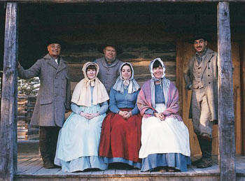 Interpreters at Burritt on the Mountain bring the 19th century to life.