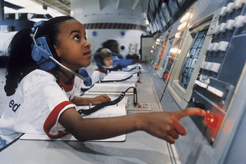 Kids can get a hands-on learning experience at one of the many Space Camps.