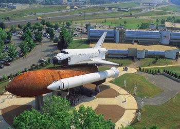 Welcome to Huntsville where America's space program was born. Photos courtesy Huntsville/Madison CountyConvention & Visitors Bureau.