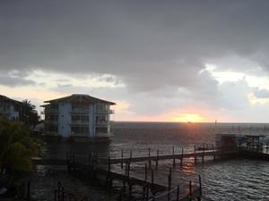 Sunrise on Providencia.