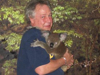 A hug from a Koala