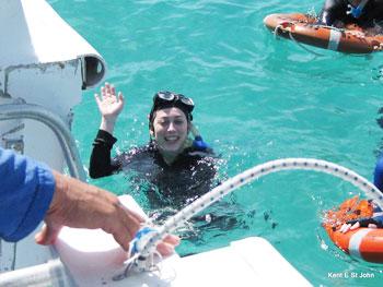Snorkeling on Lizard Island