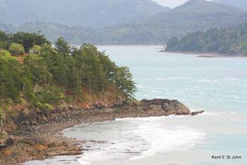 View from Hamilton Island