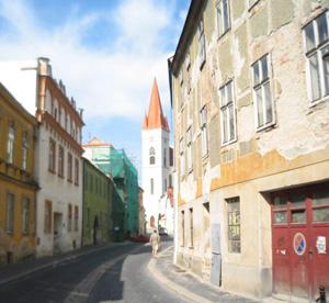Streets of Znojmo.
