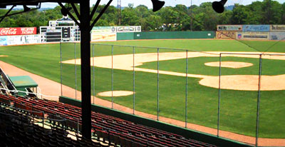 Willie Mays grew up just minutes from Rickwood Field.