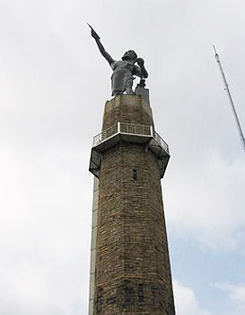 The statue of Vulcan is the largest cast iron statue in the world.