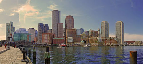 The magnificent Boston skyline. Photos by Pinaki Chakraborty.
