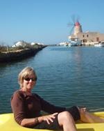 Ann Banks in Sicily