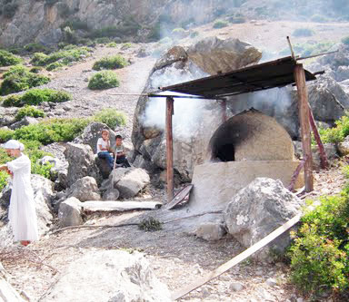 Beehive bread oven