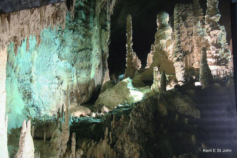 The Grotte di Frasassi in Genga