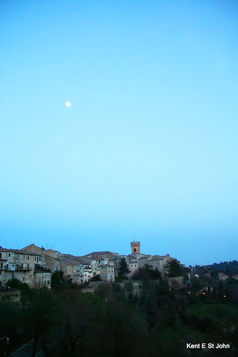 The village of Recanati