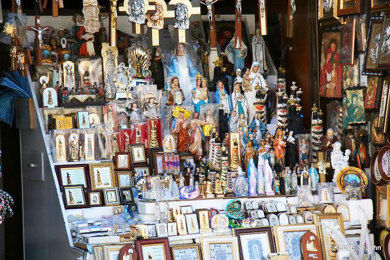 Religious relics in Loreto, Italy