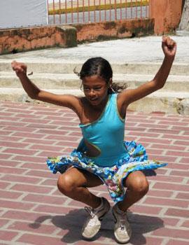 A street dance in Olinda