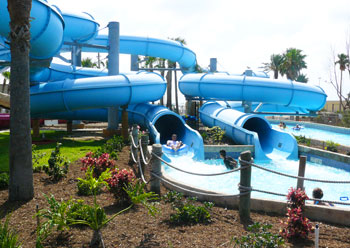 The Schlitterbahn Waterpark
