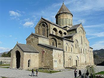 Sveti Tskhoveli Cathedral in Mkskheta