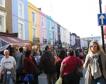 Colorful Notting Hill