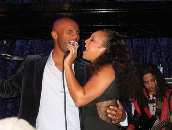Chante Moore and Kenny Lattimore at Jazz Cafe in Camden Town