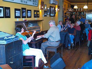 Music at the Red Shoe in Mabou