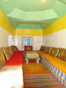 Sitting room in Gite Abachkou