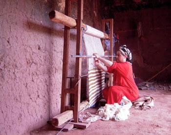Weaving in Abachkou
