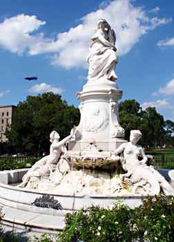 The Lorelei Statue at the corner of 161st and Grand Concourse