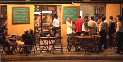 Nightlife in Belo, Horizonte, Brazil. photo by Paul Shoul.