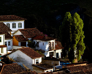 .Rooftops in Ouro Preto, Brazil. Photos by Paul Shoul
