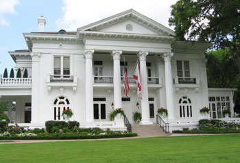 The Neo-Classical Governor's Mansion was built in 1907.