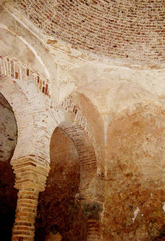The Moorish Baths, built in 1333