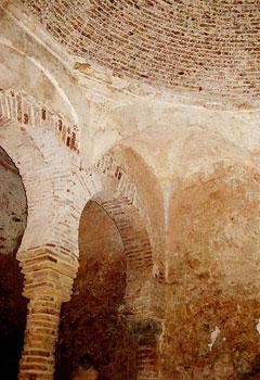 The Moorish Baths, built in 1333