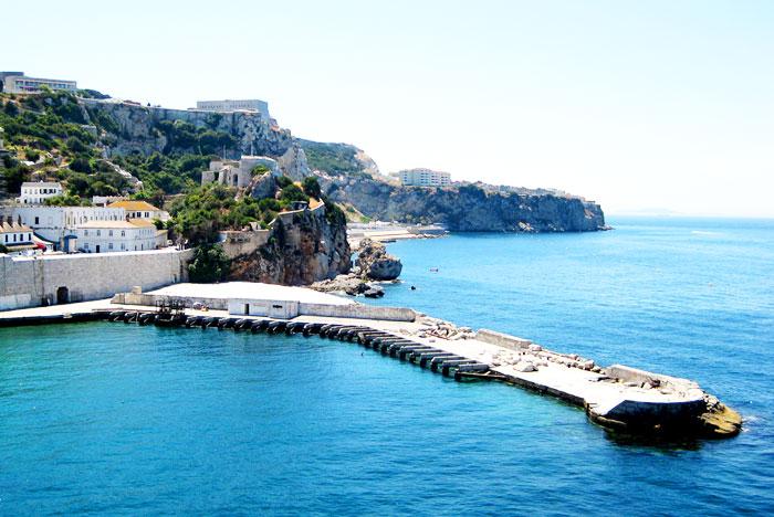 Rosia Bay, Gibraltar.