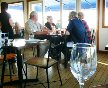The Boat Shed Cafe in Nelson, New Zealand