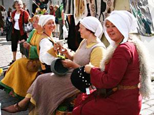 Medieval market in Tallinn