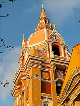 A former convent in Cartagena