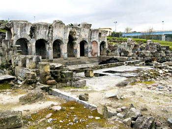 Roman Thermal Baths in Fordongianus, Sardinia