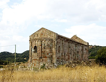 Church of San Lussorio, where the saint was tortured and killed under Emperor Diocleziano. Today is hub of the main feast day of the town, celebrated on the 22nd of August