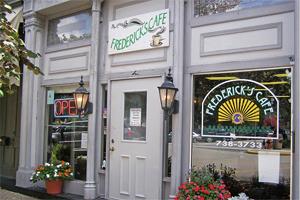Frederick's Cafe.