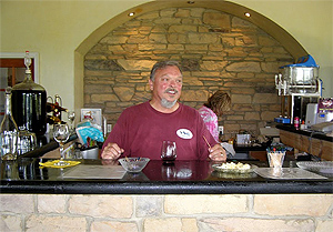 Mark Kendall, owner of Indian Creek Wines