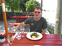 Noel Kennedy, of Wine, Art and Wilderness Tours, Nelson.