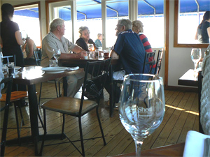 Inside the Boat Shed, Nelson New Zealand.