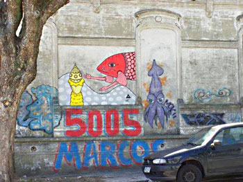 Graffiti in Montevideo