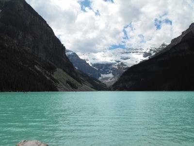 Glaciers above Lake Louise - Banff