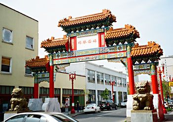 Chinatown Gate in Portland, Oregon