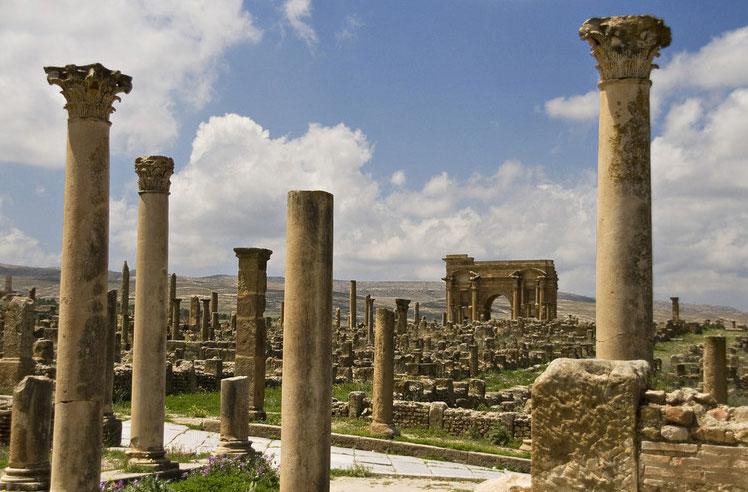 The Ruins of Hippo Regus in Algeria