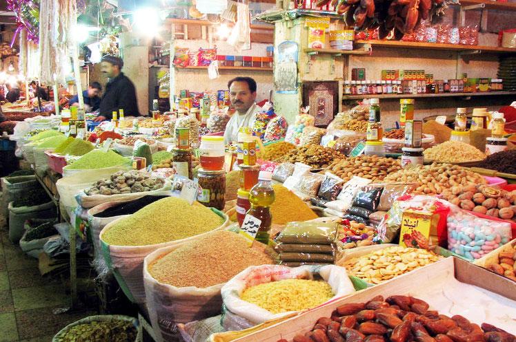 The market in El-Oued