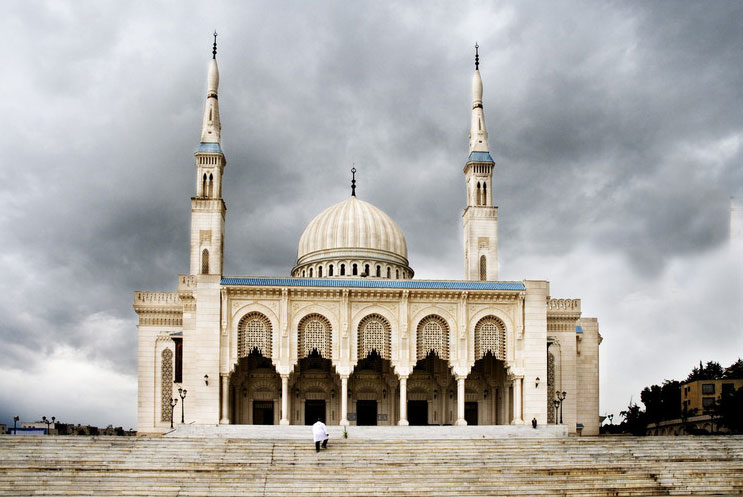 Mosque Emir Abdelkader in Constantine, Algeria