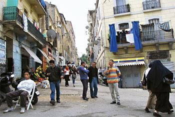 Algerian Street Scene