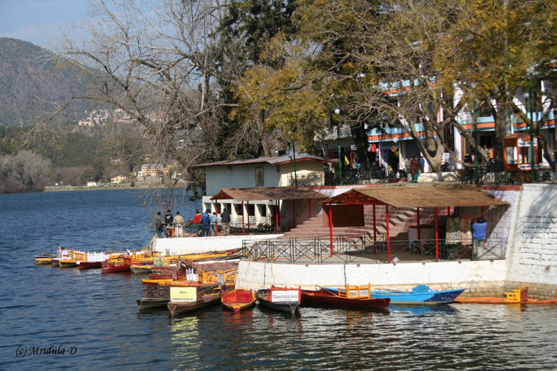 Boats on the Bhimtal