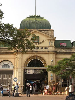 The entrance to the Municipal Market