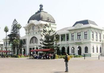 Maputo's grand railway station